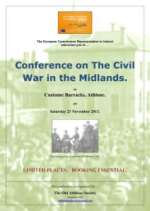 Irish Civil War in the Midlands