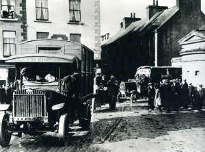 British Army leaving  the Barracks, Athlone