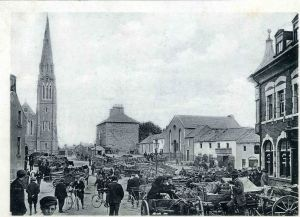 Market Scene, St Mary's Square, Athlone