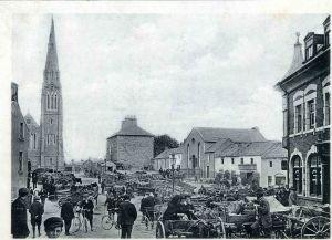 Market Scene, St Mary's Square, Athlone