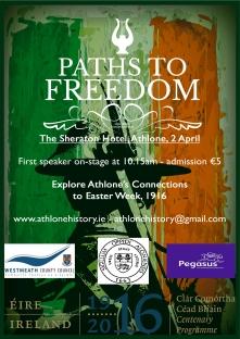 Athlone 1916 Poster