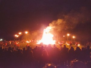Ireland, Bealtaine, Hill of Uisneach, Uisneach, Fire Celebration